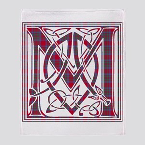 Monogram-MacKintosh Throw Blanket