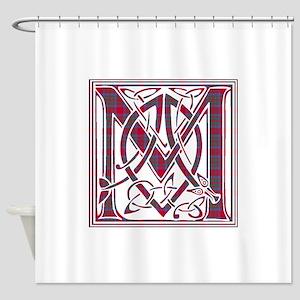 Monogram-MacKintosh Shower Curtain