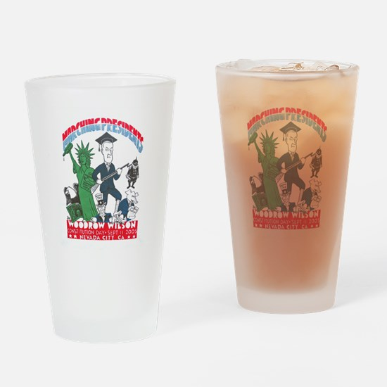2005 Woodrow Wilson Drinking Glass