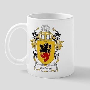 Van Buren Coat of Arms Mug