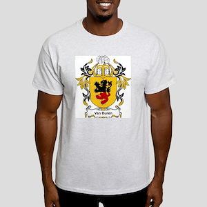 Van Buren Coat of Arms Ash Grey T-Shirt
