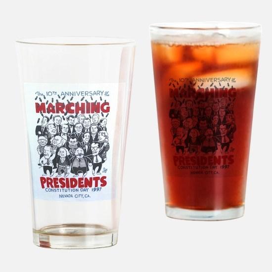 1997 10th Anniversary Drinking Glass