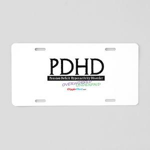 PDHD 02 Aluminum License Plate