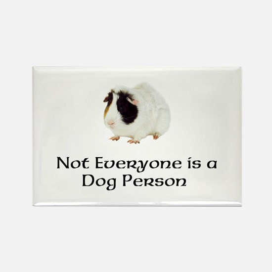 Not Everyone is a Dog Person Rectangle Magnet