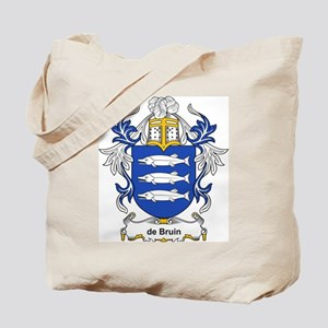 de Bruin Coat of Arms Tote Bag