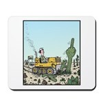 Cactus giving the Finger Mousepad
