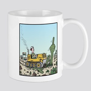 Cactus giving the Finger Mug