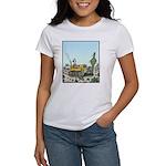 Cactus giving the Finger Women's T-Shirt