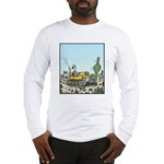 Cactus giving the Finger Long Sleeve T-Shirt