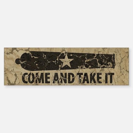 Come and Take It Sticker (Bumper)