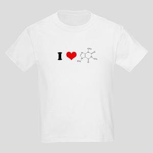 I Love Caffiene Kids T-Shirt