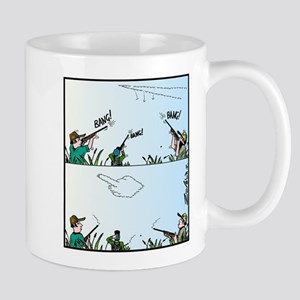 Birds giving the Finger Mug