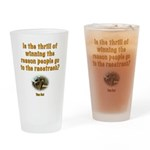 Is winning the reason people go to the track?Glass