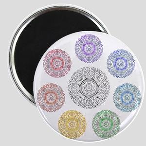 seven chakra circle Magnet