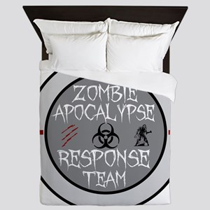 zombie apocalypse response team Queen Duvet