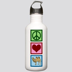 Peace Love Camels Stainless Water Bottle 1.0L