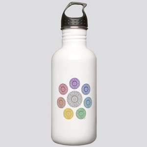seven chakra circle Stainless Water Bottle 1.0L