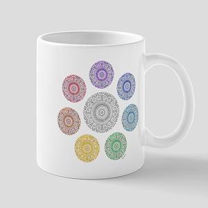 seven chakra circle Mug