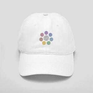 seven chakra circle Cap