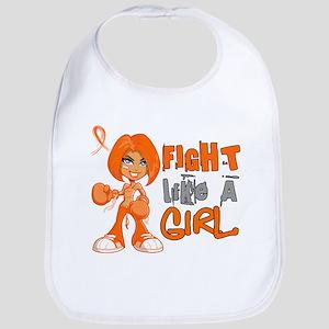 Fight Like a Girl 42.8 Kidney Cancer Bib