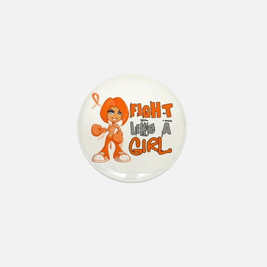 Fight Like a Girl 42.8 Kidney Cancer Mini Button