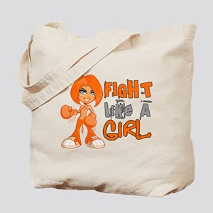 Fight Like a Girl 42.8 Kidney Cancer Tote Bag
