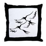 Wild Birds Throw Pillow