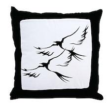 Wild Birds Throw Pillow