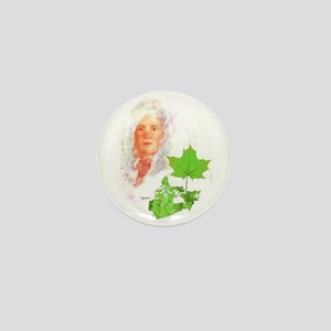 Maple Spring Mini Button