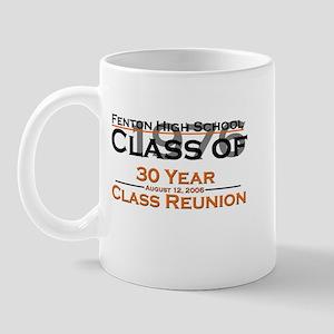 Fenton Class of 1976 30 Year  Mug