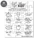 Baby Thai and Baby English Puzzle