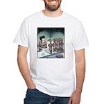 Angry Minks White T-Shirt