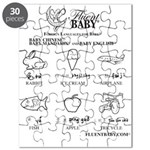 Baby Chinese/Baby Mandarin and Baby English Puzzle