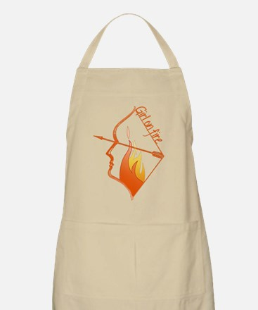 Girl on Fire Apron