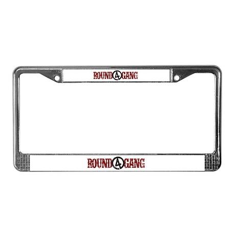 R4G TX RED License Plate Frame