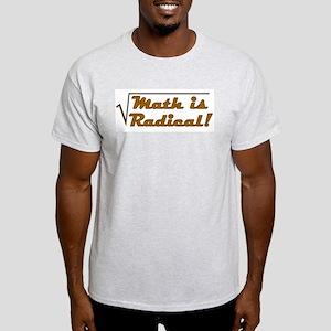 Math is Radical! Ash Grey T-Shirt