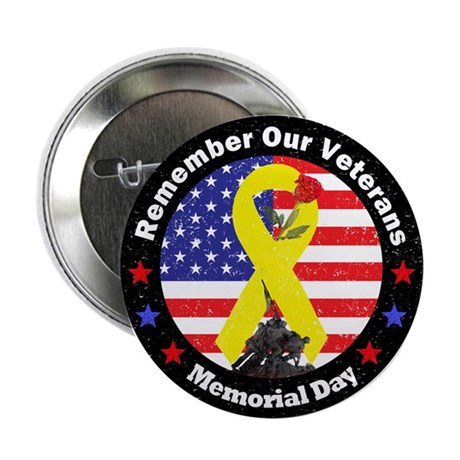 "Memorial Day 2.25"" Button (10 pack)"