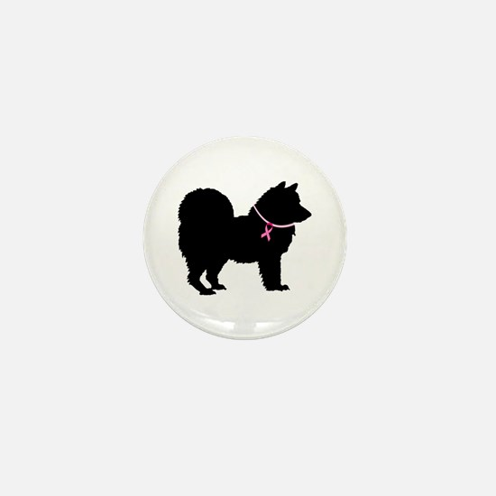 Chow Chow Breast Cancer Support Mini Button