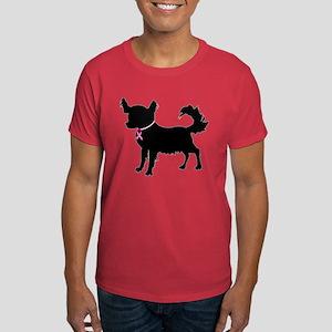 Chihuahua Breast Cancer Awareness Dark T-Shirt