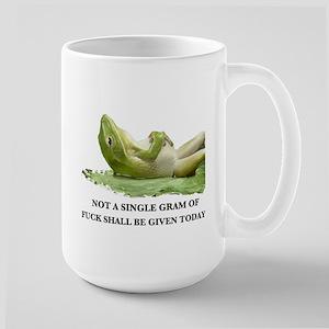 Froggy Style Large Mug