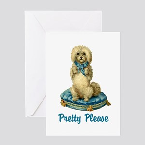 Pretty Please Greeting Card