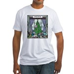 Christmess Fitted T-Shirt