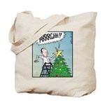 Christmas tree Stars butt surprise Tote Bag