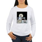 Gods Too Hard Basket Women's Long Sleeve T-Shirt