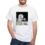 Gods Too Hard Basket White T-Shirt