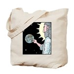 Gods Wash me Earth sign Tote Bag