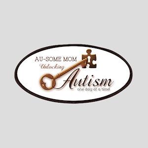 Au-some Mom Unlocking Autism Patches