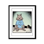 Have a Mice day Framed Panel Print