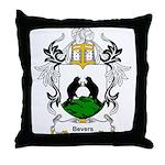 Bevers Coat of Arms Throw Pillow