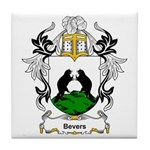 Bevers Coat of Arms Tile Coaster
